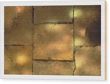 Stone And Light 08 Wood Print