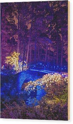 Stone Bridge - Full Height Wood Print