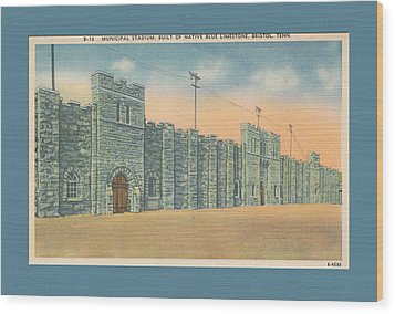 Stone Castle Bristol Tn Built By Wpa Wood Print