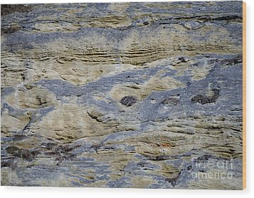 Wood Print featuring the photograph Stone Detail by Felicia Tica