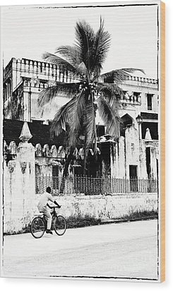 Tanzania Stone Town Unguja Historic Architecture - Africa Snap Shots Photo Art Wood Print