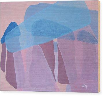 Stonehenge Wood Print by Michael  TMAD Finney AKA MTEE