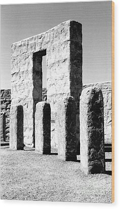 Stonehenge Replica Wood Print by Chalet Roome-Rigdon