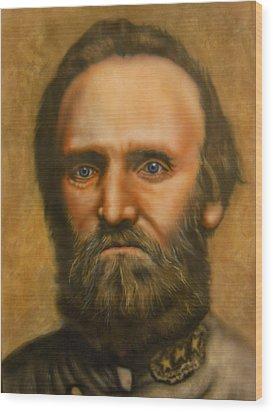 Stonewall Jackson Wood Print by Scott Whitter
