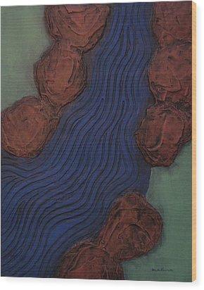Stoney Brook Wood Print