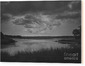 Stony Brook Bay Wood Print by Paul Cammarata