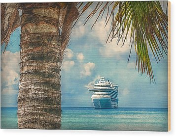 Wood Print featuring the photograph Stopover In Paradise by Hanny Heim