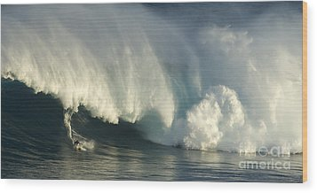 Storm Front Wood Print by Bob Christopher