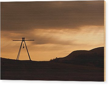 Storm King Wood Print by Terry Cosgrave