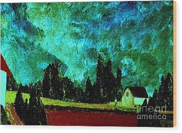 Stormlight Wood Print