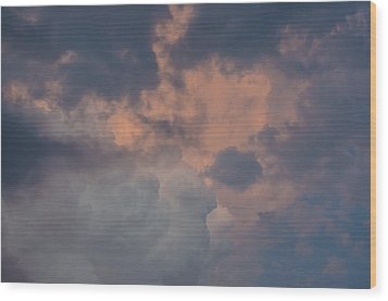 Stormy Clouds Viii Wood Print
