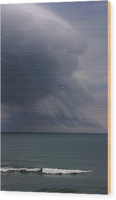 Stormy Days Wood Print by Bruce Bley