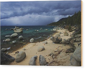 Wood Print featuring the photograph Stormy Days  by Sean Sarsfield