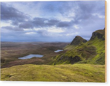 Storybook Beauty Of The Isle Of Skye Wood Print by Mark E Tisdale