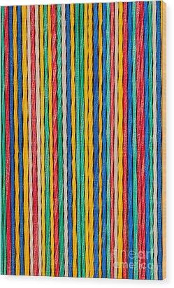 Straight Wood Print by Shawn Hempel