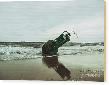 Wood Print featuring the photograph Stranded by Angela DeFrias