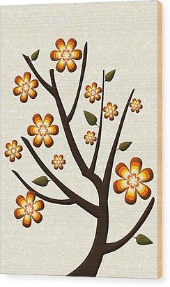 Strange Season Wood Print by Anastasiya Malakhova