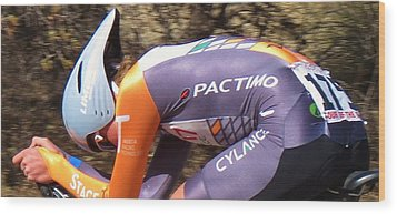 Streamlined For Speed Wood Print by Feva  Fotos
