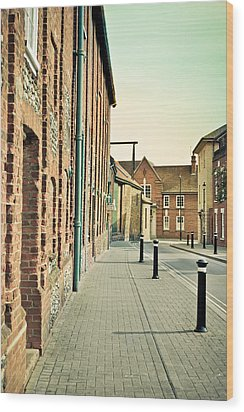 Street  Wood Print by Tom Gowanlock