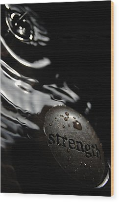 Wood Print featuring the photograph Strength by Michael Donahue