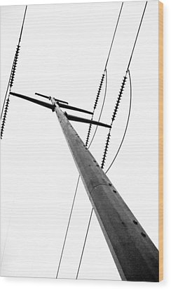 Strength Wood Print by Wade Brooks