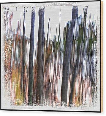 Striation Wood Print