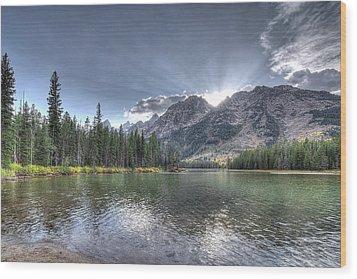 String Lake Wood Print by Jeremy Farnsworth