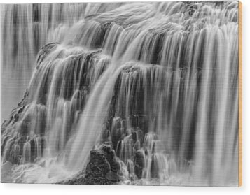 Strong Waters Wood Print by Jon Glaser