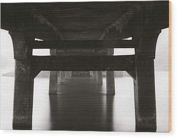 Structure Wood Print by Amarildo Correa