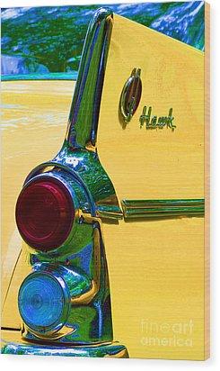 Studebaker Hawk Wood Print by Alys Caviness-Gober