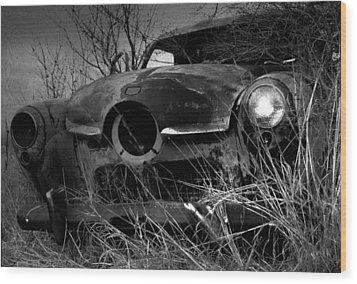 Studebaker  Wood Print by Jim Vance