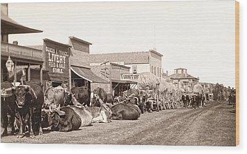 Sturgis South Dakota C. 1890 Wood Print by Daniel Hagerman