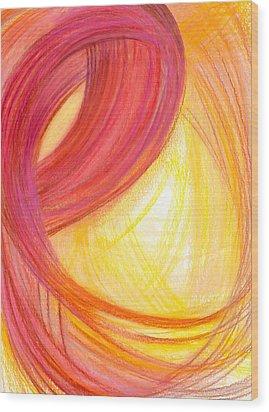 Sublime Design-v2 Wood Print by Kelly K H B