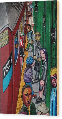 Subway 1 Wood Print by Rob Hans