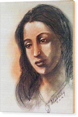Suchitra Sen Wood Print