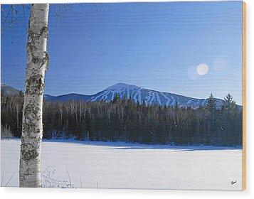 Sugarloaf Usa Wood Print