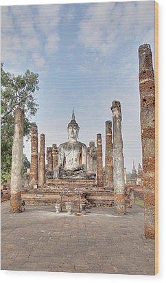 Sukhothai Historical Park - Sukhothai Thailand - 011331 Wood Print by DC Photographer