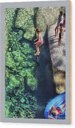 Summer At Yosemite Wood Print by Jeff Breiman