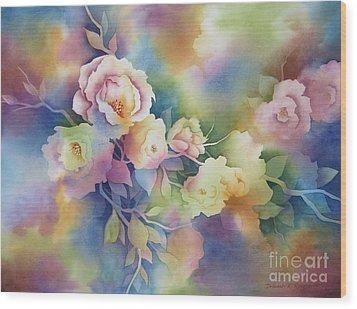 Summer Blooms Wood Print by Deborah Ronglien