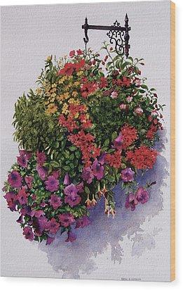 Summer Bouquet Wood Print by Karol Wyckoff