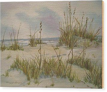 Summer Breezes Wood Print by Cheryl Borchert