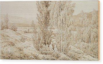 Summer Wood Print by Caspar David Friedrich