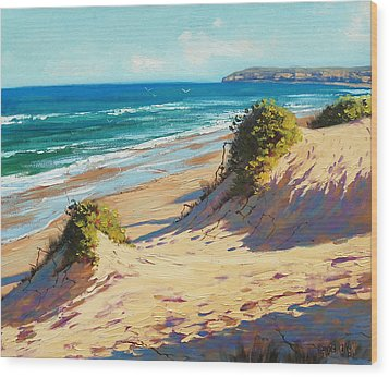 Summer Day The Entrance Wood Print by Graham Gercken
