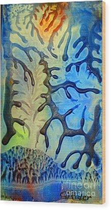 Summer Days Wood Print by CJ  Rider