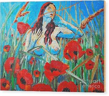 Summer Dream 1 Wood Print by Ana Maria Edulescu