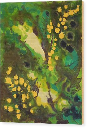 Summer Dream Wood Print by Beata Rodee
