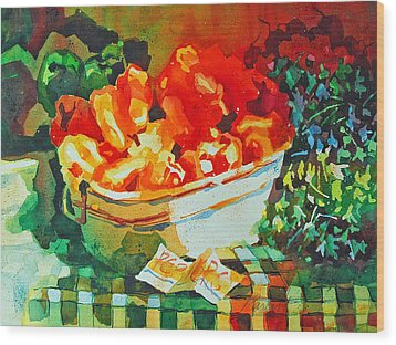 Summer Harvest Wood Print by Roger Parent