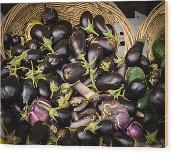 Wood Print featuring the photograph Summer Harvest by Wayne Meyer