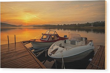 Summer Idyll Wood Print by Rose-Maries Pictures