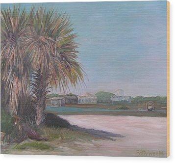 Summer Island Wood Print